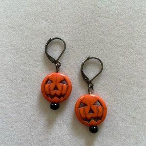 Jack O'Lantern Earrings